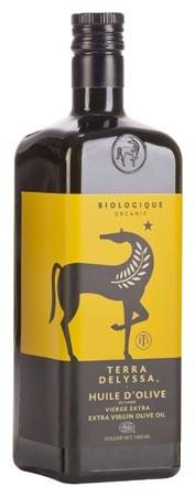 TERRA DELYSSA Organic Extra Virgin Olive Oil 1L
