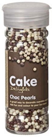 Cake Decoraties Choc Pearls 100ml