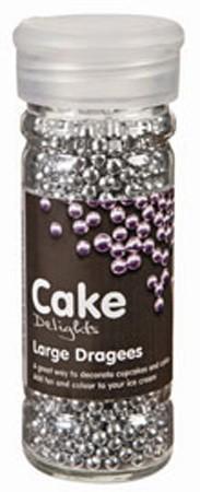 Cake Decoraties Large Dragees 100ml