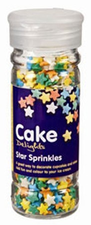 Cake Decoraties Star Sprinkles 100ml