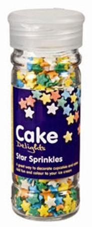 Cake Decoraties Star Sprinkles 100ml