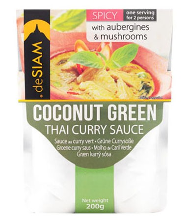 deSIAM Coconut Green Curry Sauce 200g