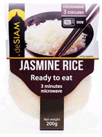 deSIAM Jasmine Rice Cooked 200g