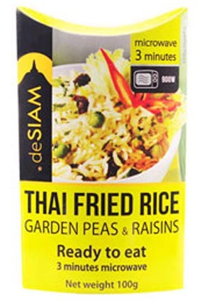 deSIAM Instant Fried Rice Peas/Raisins 100g