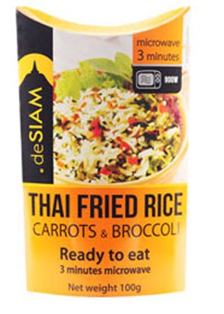 deSIAM Instant Fried Rice Carrots/Broccoli 100g