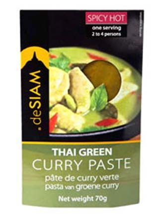 deSIAM Green Curry Paste 70g
