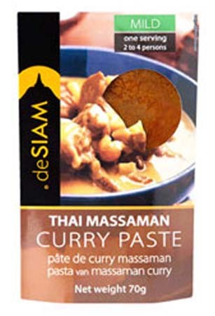 deSIAM Massaman Curry Paste 70g