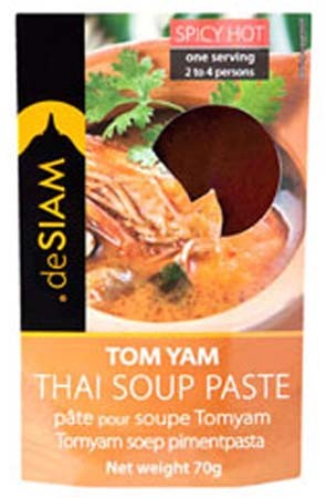 deSIAM Tom Yam Soup Paste 70gr