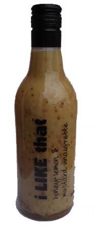 Honey Lemon & Mustard Vinaigrette 250ml