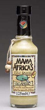 Mama Africa's Jalapeno Sauce 125ml
