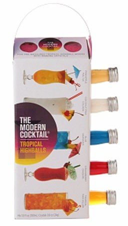 Modern Cocktail Tropical Highballs