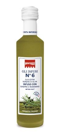 Olive Oil Geneper & Rosemary - 6  125ml