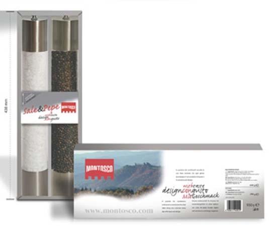 Giftpack Pepper & Salt grinder 940gr