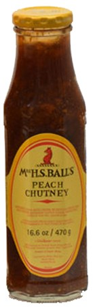 Mrs H.S. Ball's Peach Chutney 470gr