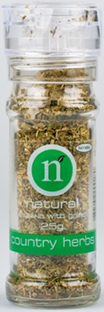Naturel Grinder Country Herbs 25gr