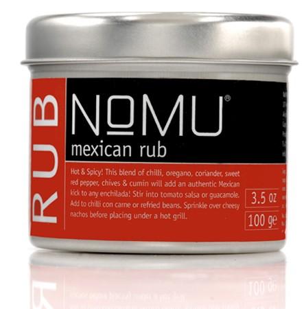 NoMU Mexican Rub 100gr