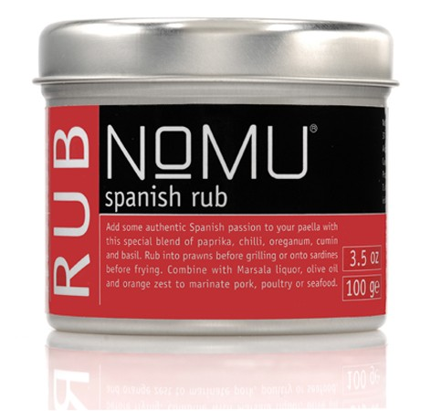 NoMU Spanish Rub 100gr