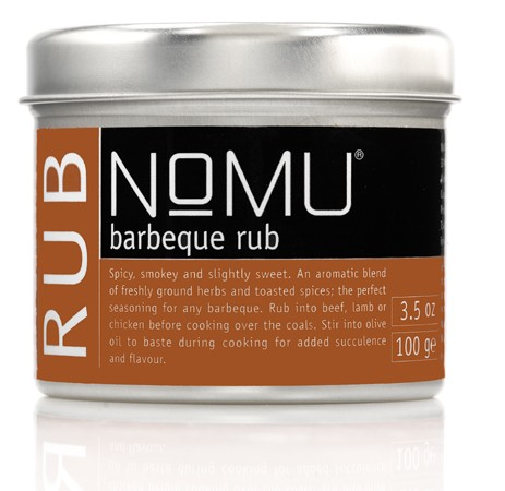 NoMU Barbeque Rub 100gr