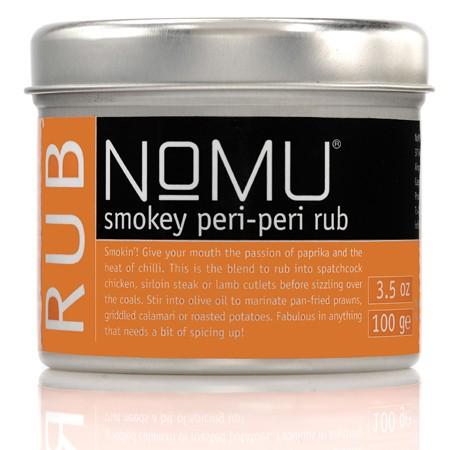 NoMU Smoky Peri Peri Rub 100 gr