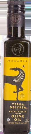 TERRA DELYSSA Organic Extra Virgin Olive Oil 250ml