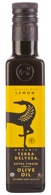TERRA DELYSSA Organic Extra Virgin Olive Oil Lemon 250ml
