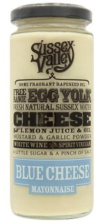 Sussex Valley Blue Cheese Mayonnaise 235gr