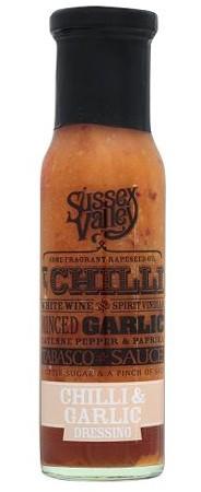 Sussex Valleys Chilli & Garlic Dressing 240gr