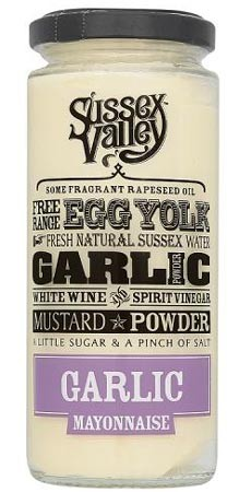 Sussex Valley Garlic Mayonnaise 235gr