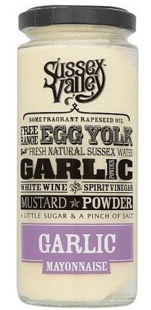 Sussex Valley Garlic Mayonnaise 235gr