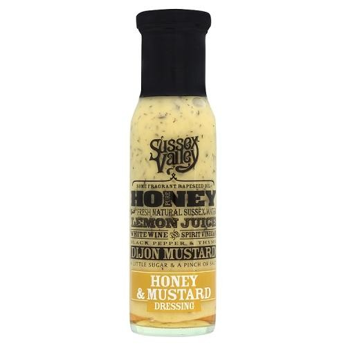 Sussex Valleys Honey & Mosterd Dressing 230gr