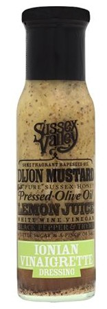 Sussex Valleys Ionian Vinaigrette 230gr
