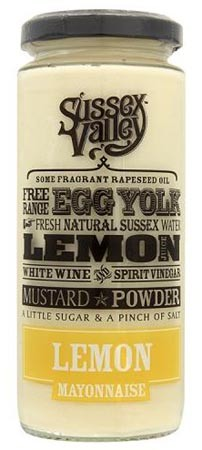 Sussex Valley Lemon Mayonnaise 235gr