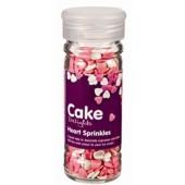 Cake Decoraties Heart Sprinkles 100ml