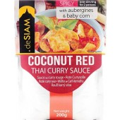 deSIAM Coconut Red Curry Sauce 200g