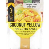 deSIAM Coconut Yellow Curry Sauce 200g