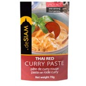 deSIAM Red Curry Paste 70g