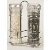 Pepper & Salt Grinder with Rack
